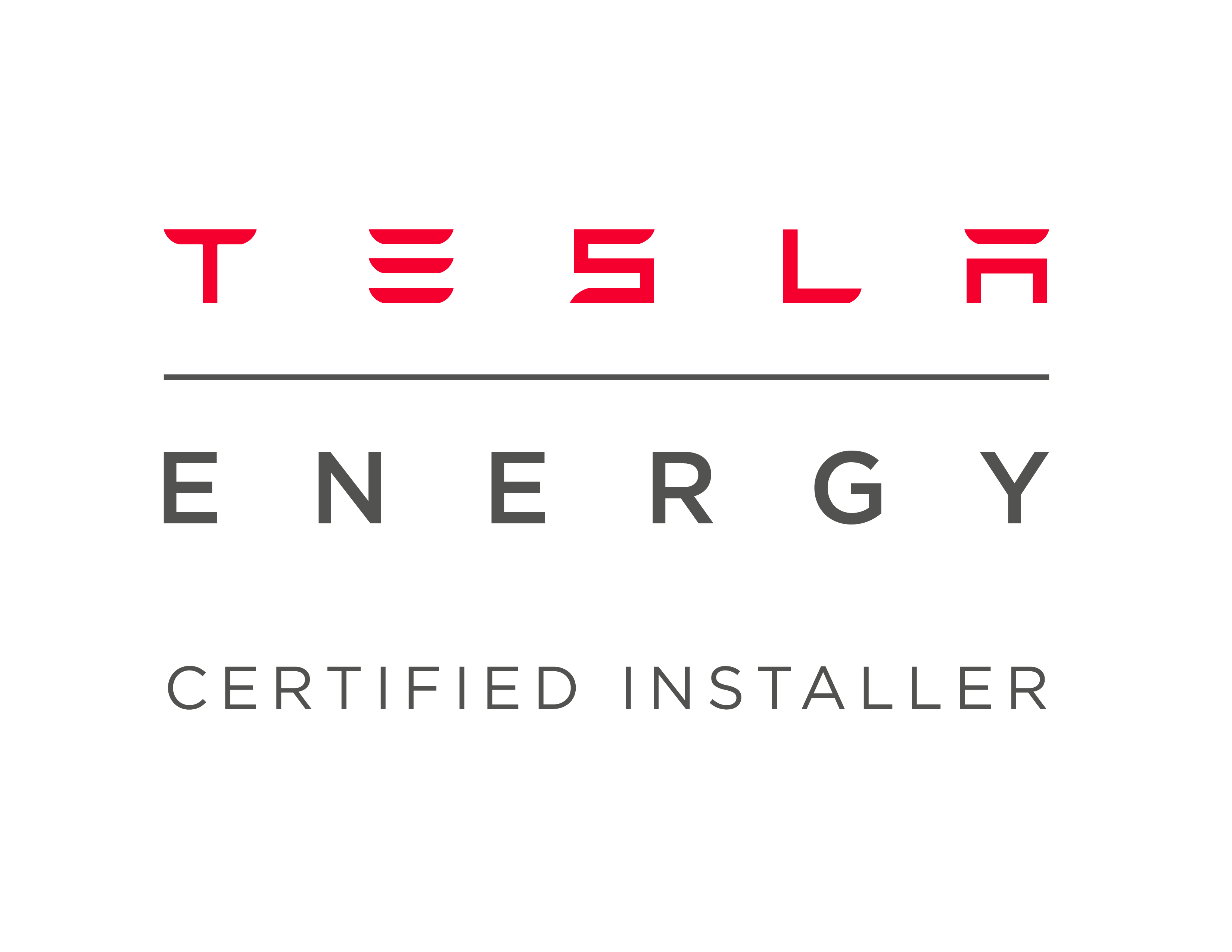 Tesla energy certified
